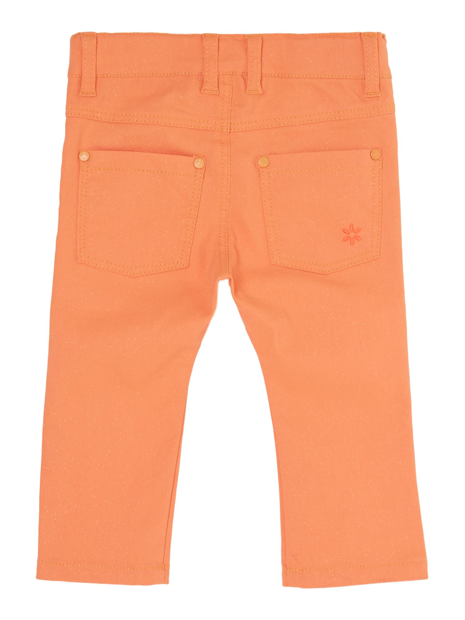 Girls skinny trouser with pockets