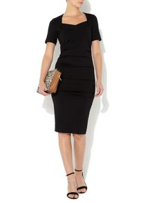 The sleeved kate body con dress