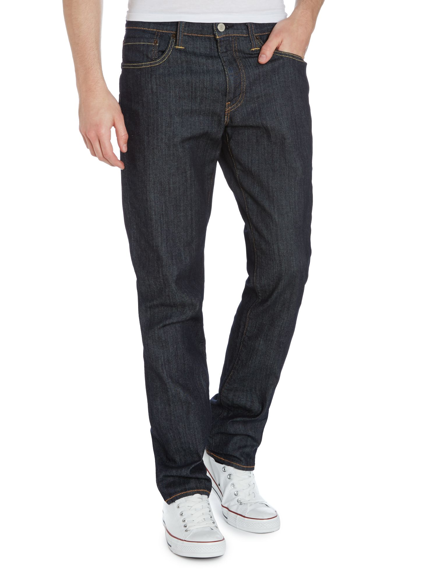 511 slim fit dark wash jeans