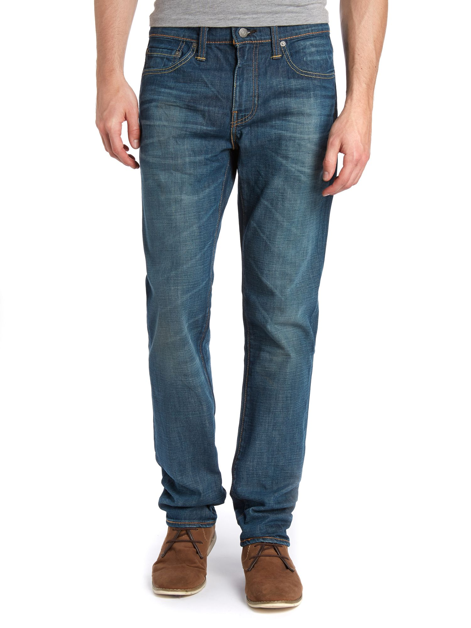 511 explorer rinse slim fit jeans
