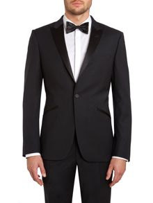 Dinner Suit Jacket With A Satin Peak Lapel