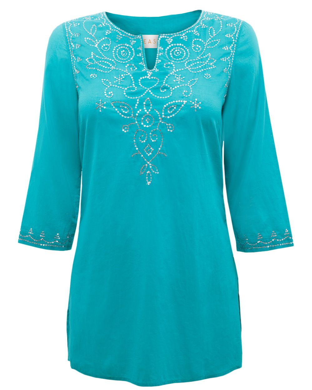 Sequin embroidered kurta