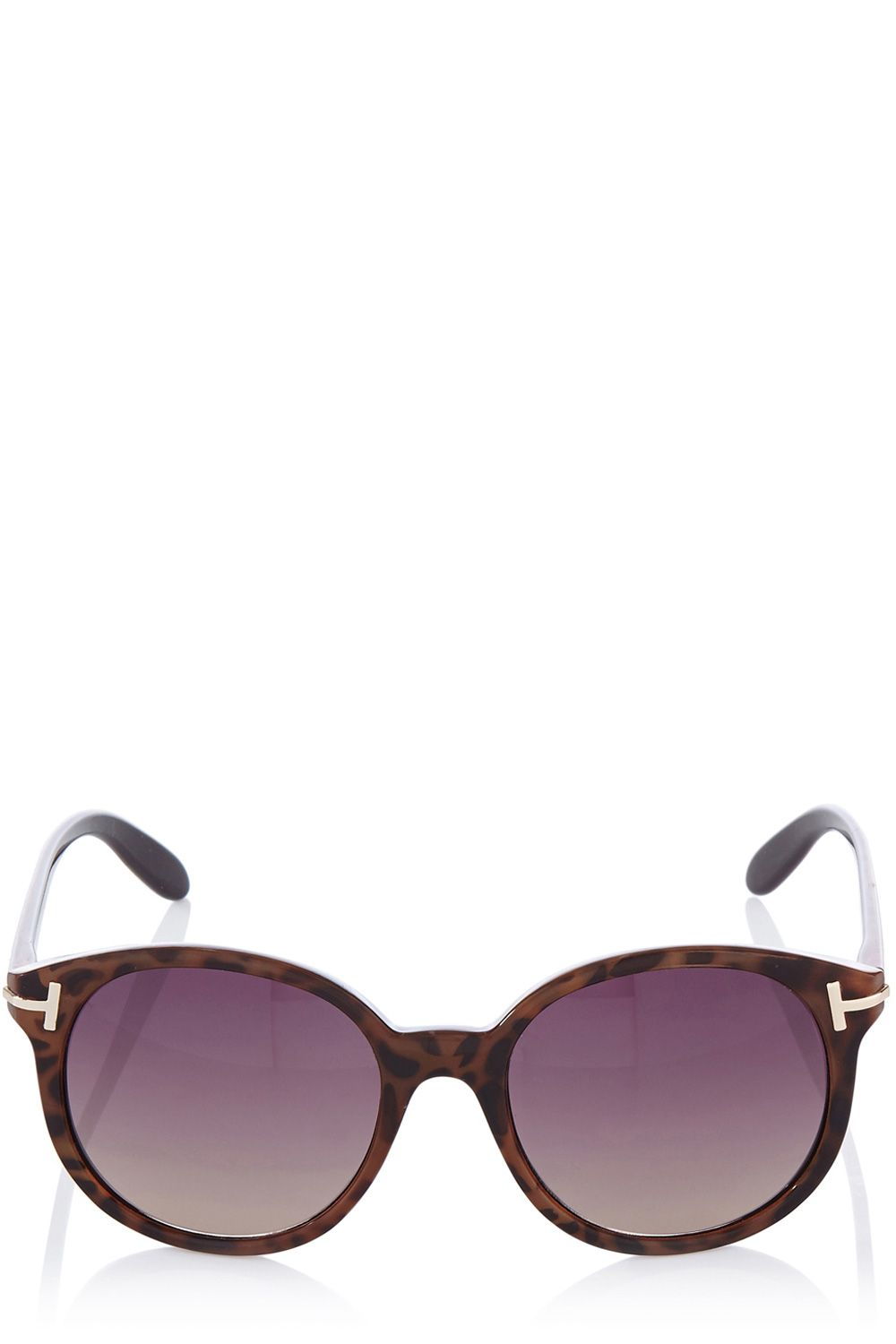 Oversized preppy sunglasses