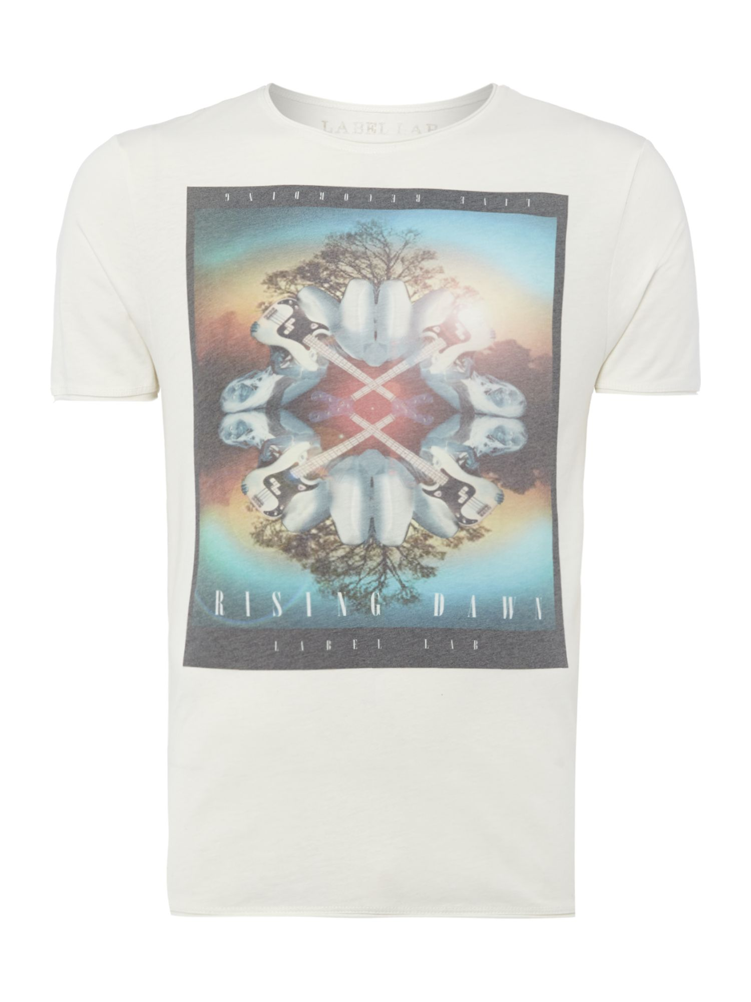 Rising sun graphic tee