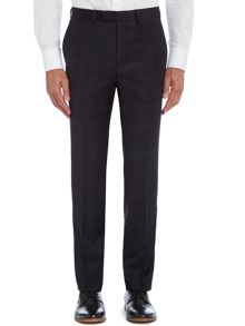 Shadow check slim fit suit trousers