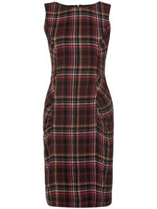 Michelle tartan dress