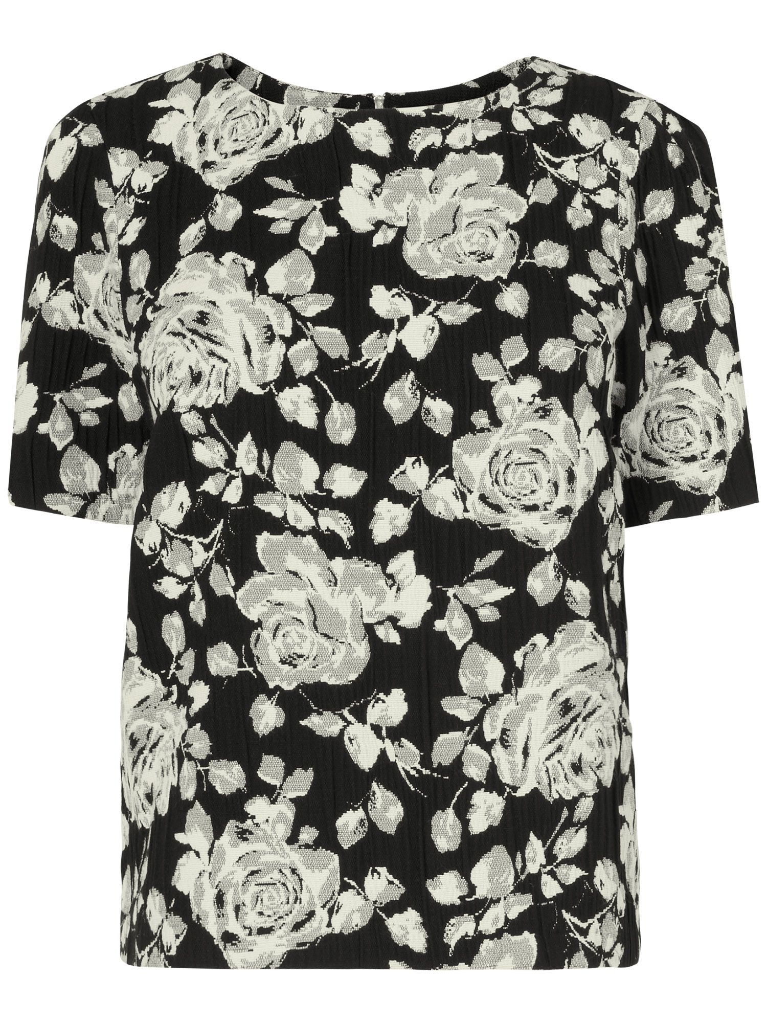 Marcie floral shell top