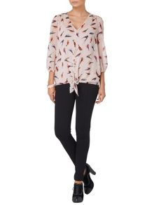 Peggy bird blouse