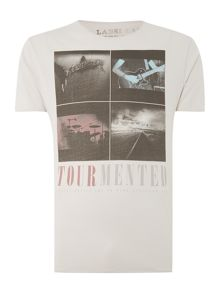 Tourmented graphic tee
