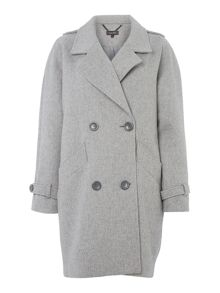 Pied a Terre Double breasted boyfriend coat