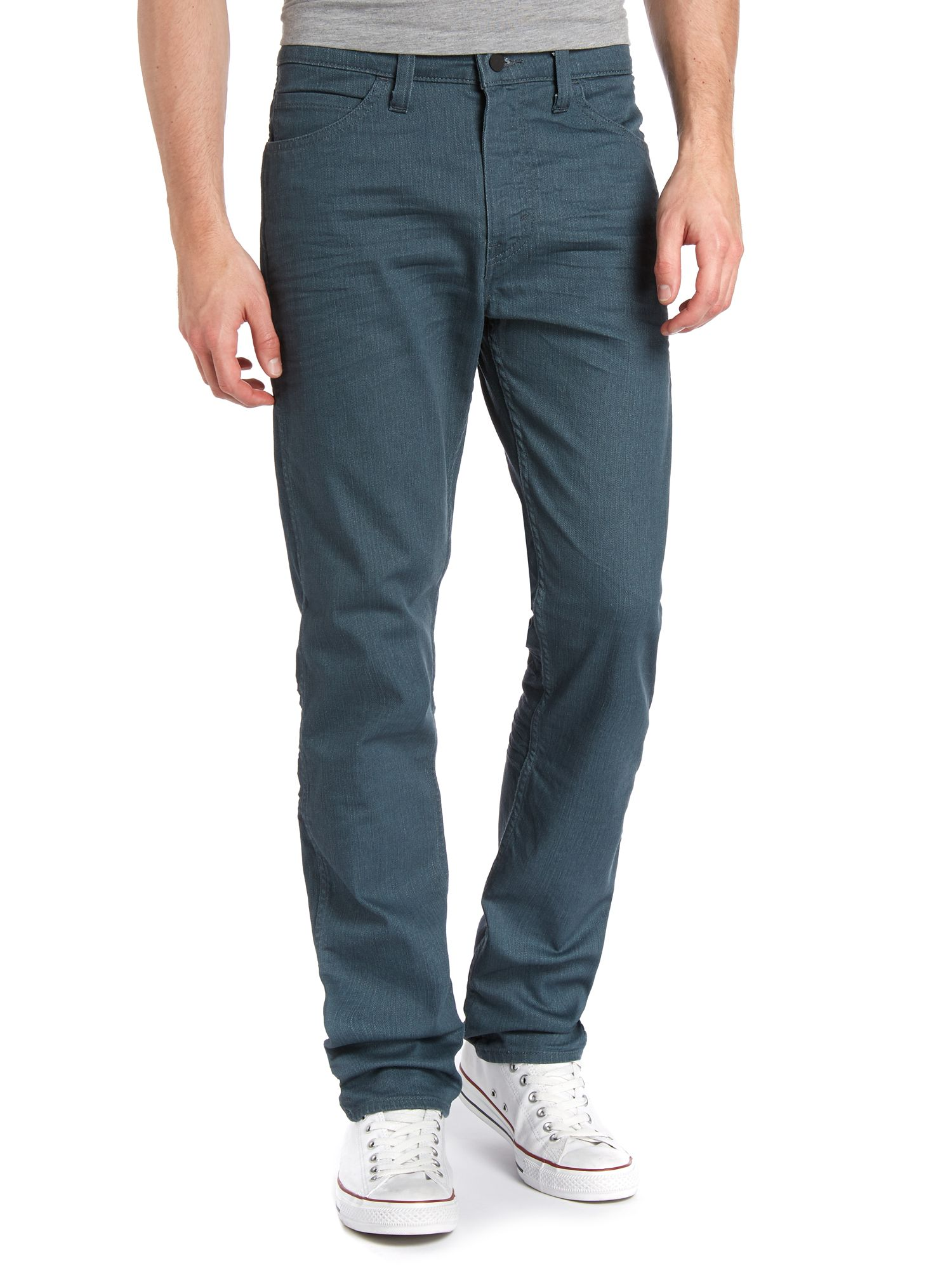 Line 8 508 tapered dark wash jeans