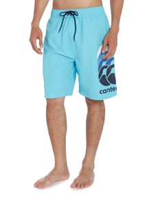Graduated print board shorts