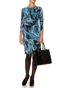 Feather Moon Ruch Dress