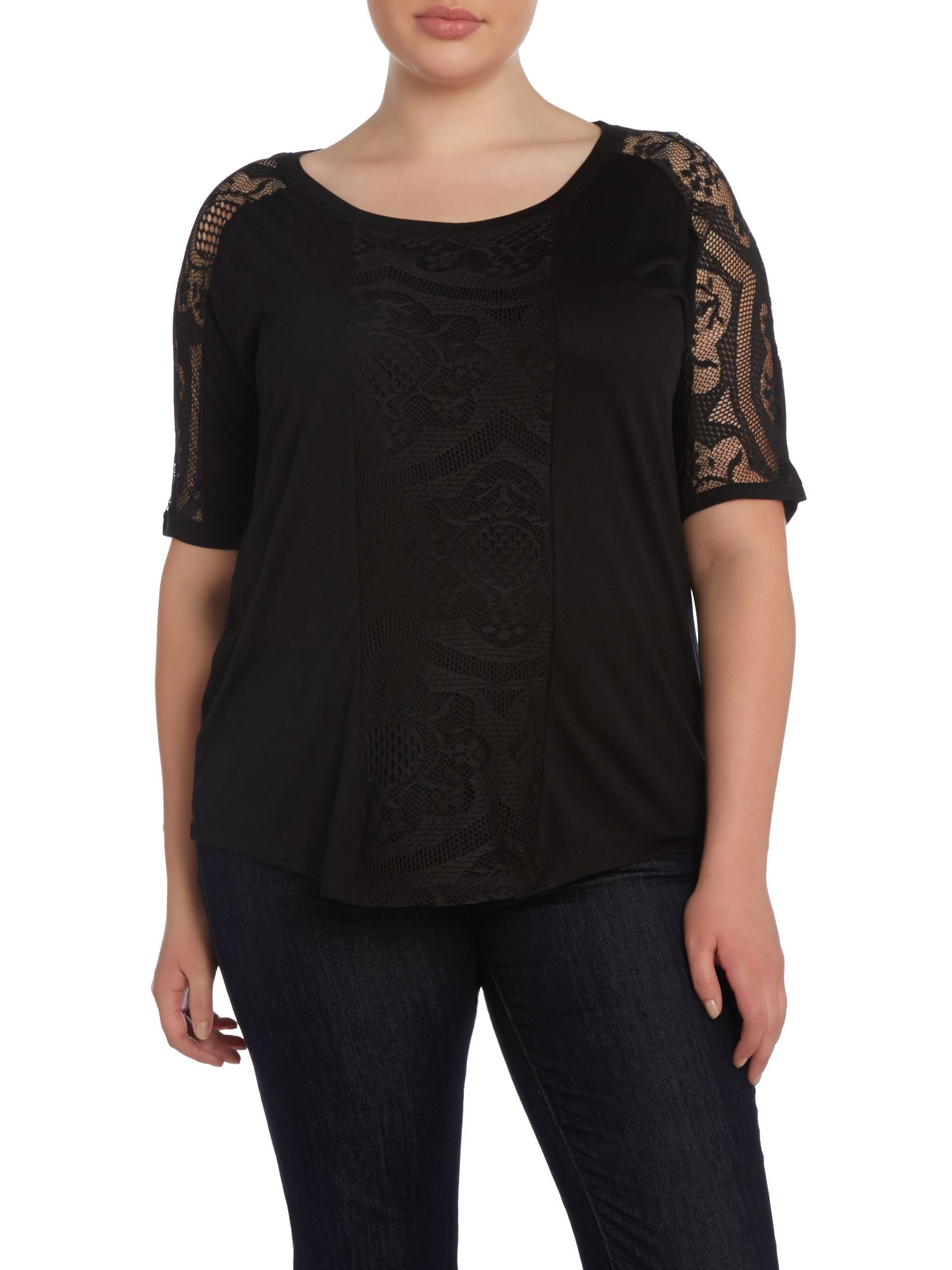 Vick Top Lace Detail