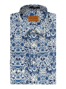 Forest Print Slim Fit Shirt