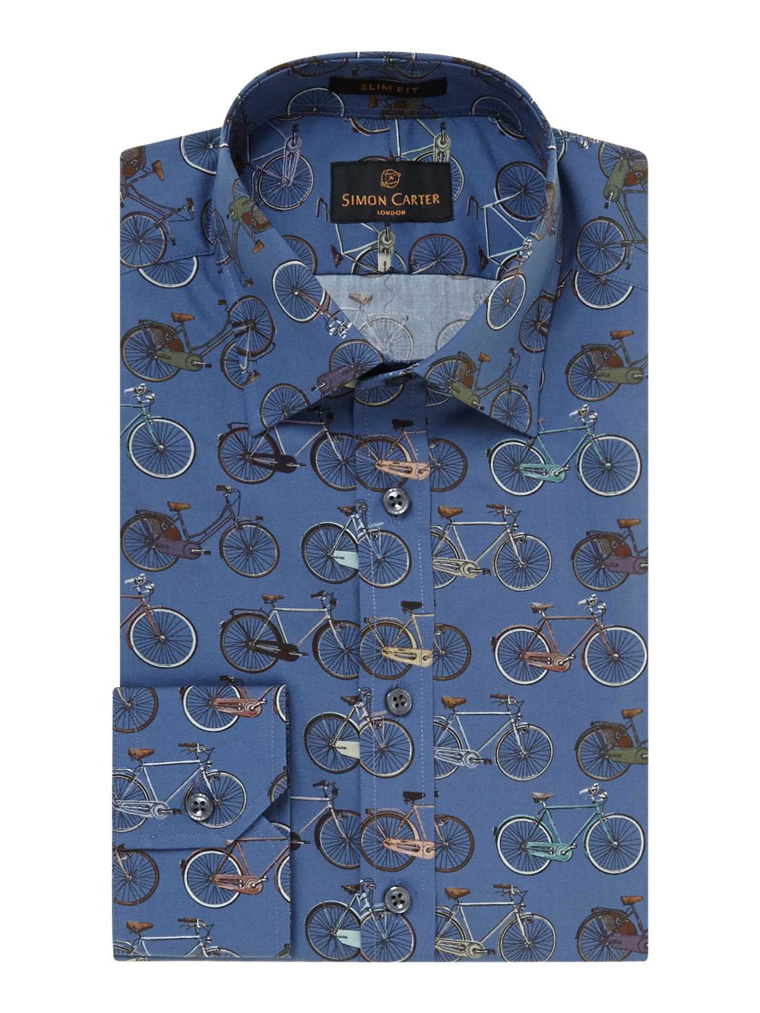 Bike slim fit shirt