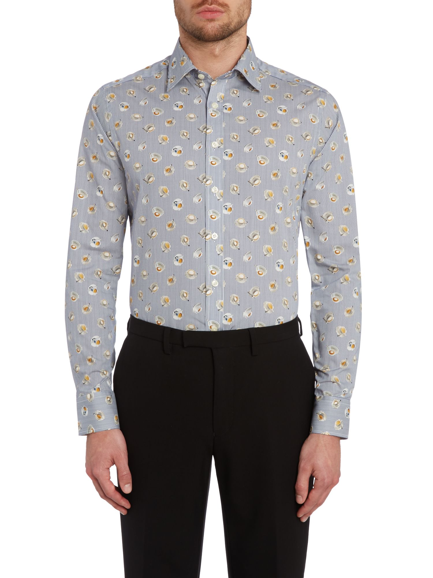 Teacup slim fit shirt