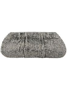 Maya beaded clutch bag