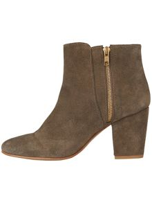 Mollie suede ankle boots