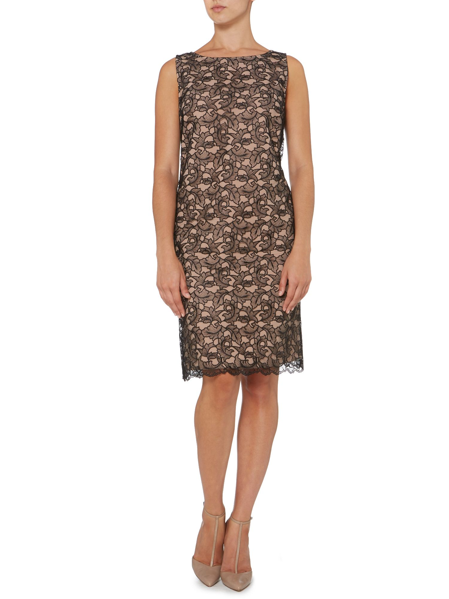 Lace corded dress