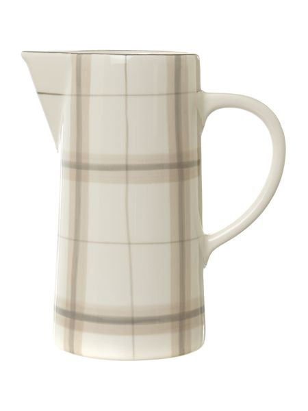 Linea Forest check pitcher jug