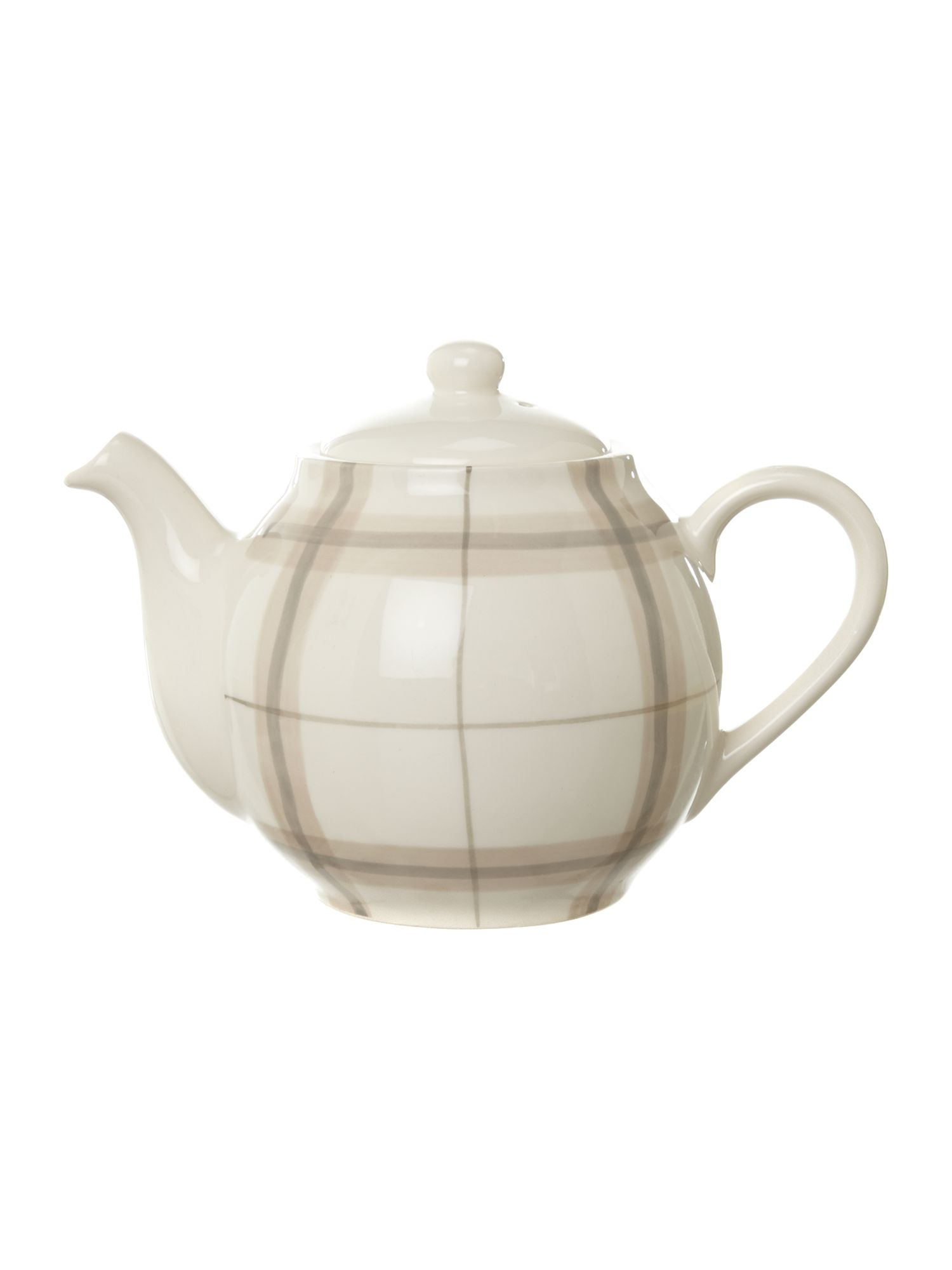 Forest check teapot