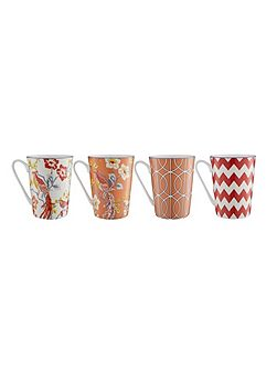 Avery set 4 mugs