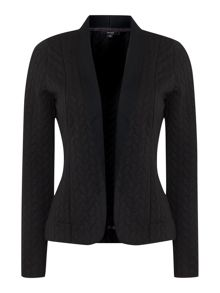 Rope textured jacket