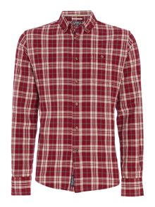 Davidson Check Long Sleeved Shirt