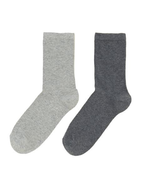 Linea 2 pack cotton socks