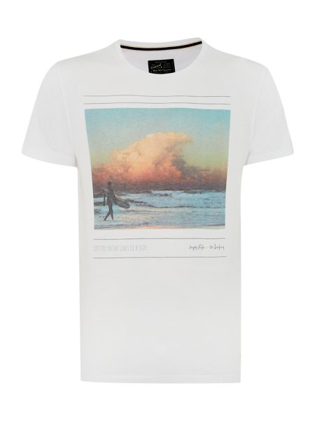 Criminal Cloud Wave Graphic Tee