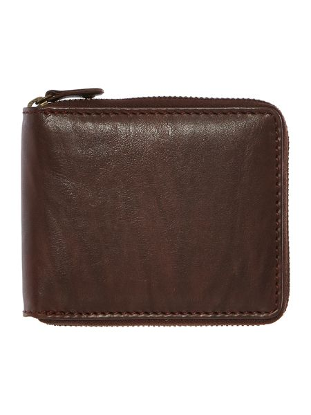 Howick Zip around wallet with coin pocket