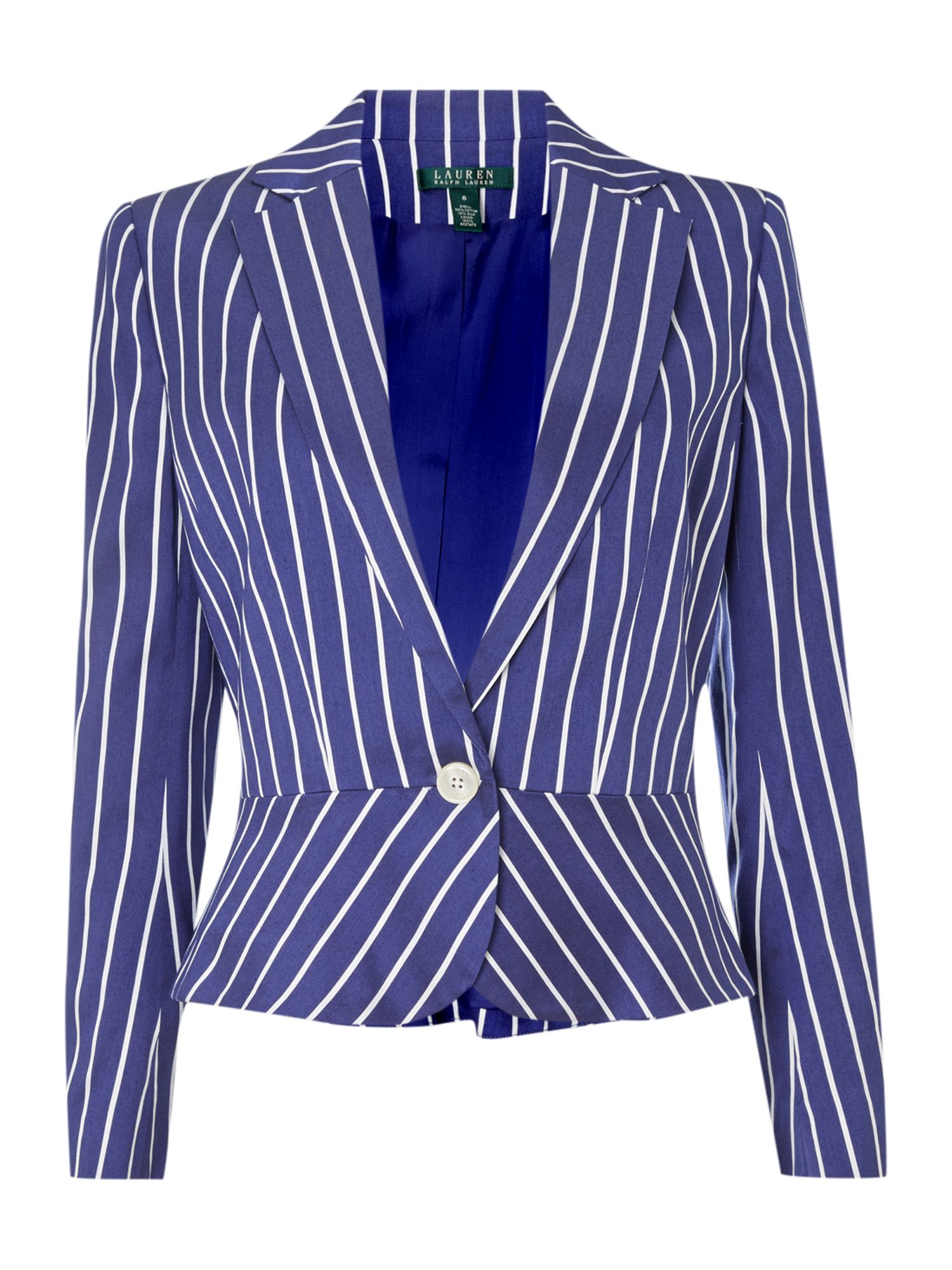 Chalilla stripe cotton jacket