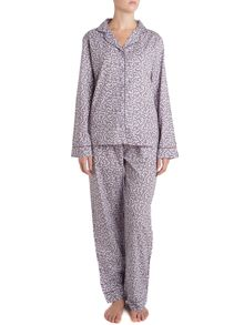 Paisley tile brushed pj set