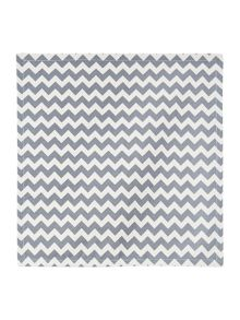 Chevron napkins grey set of 4