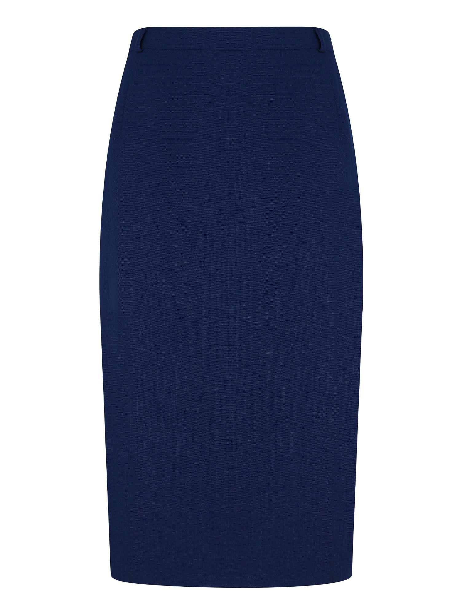 Stitch detail pencil skirt
