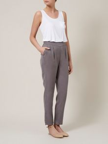 Smock waistband trousers