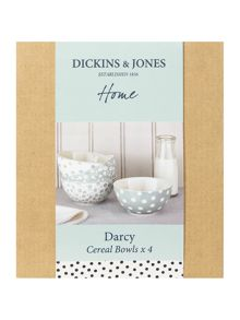 Darcy cereal bowl set of 4