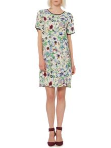 Hero floral print shift dress