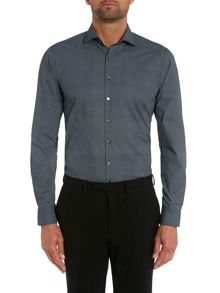 Small Pindot Slim Fit Shirt