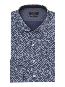 Small paisley slim fit shirt
