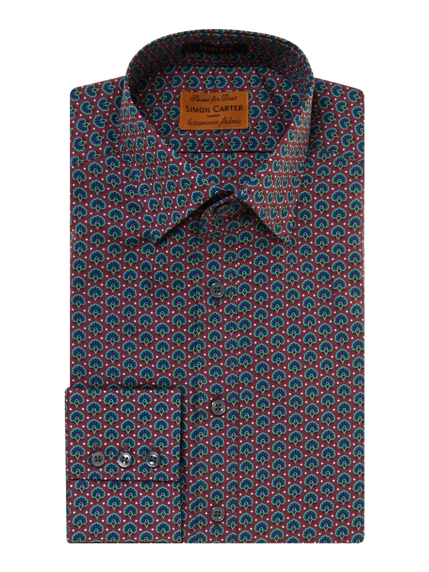 Peacock slim fit shirt
