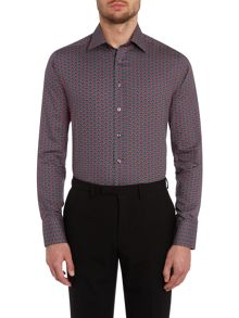 Simon Carter Peacock slim fit shirt