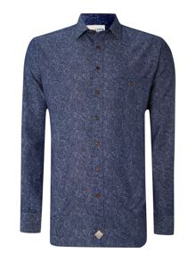 Chambray Paisley Shirt