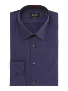 Simon Carter End on end slim fit shirt