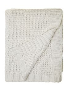 Elsie cream blanket
