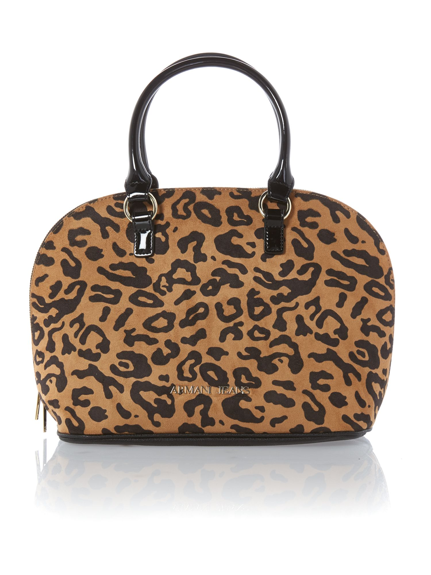 Leopard dome bag