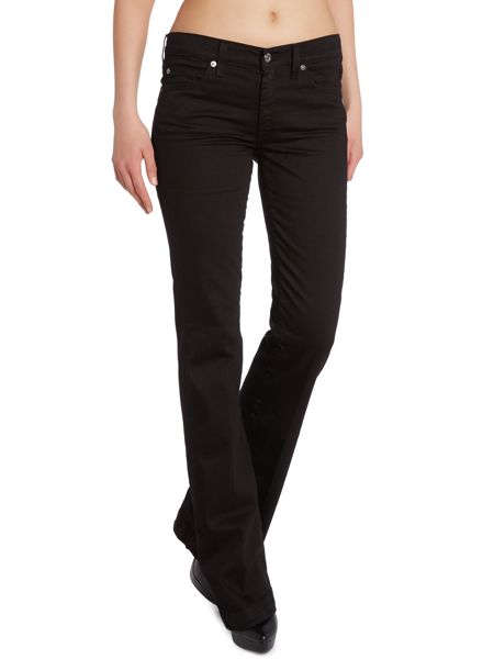 7 For All Mankind Charlize bootcut jeans in Portland Black