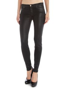 The Skinny coated jeans in Black