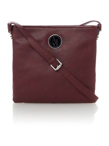 Red medium cross body bag